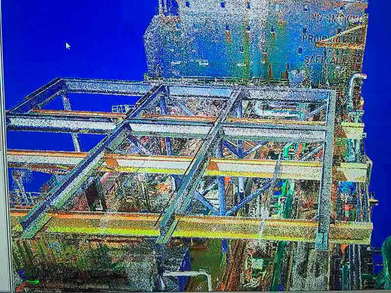 Escaneamento 3d industrial