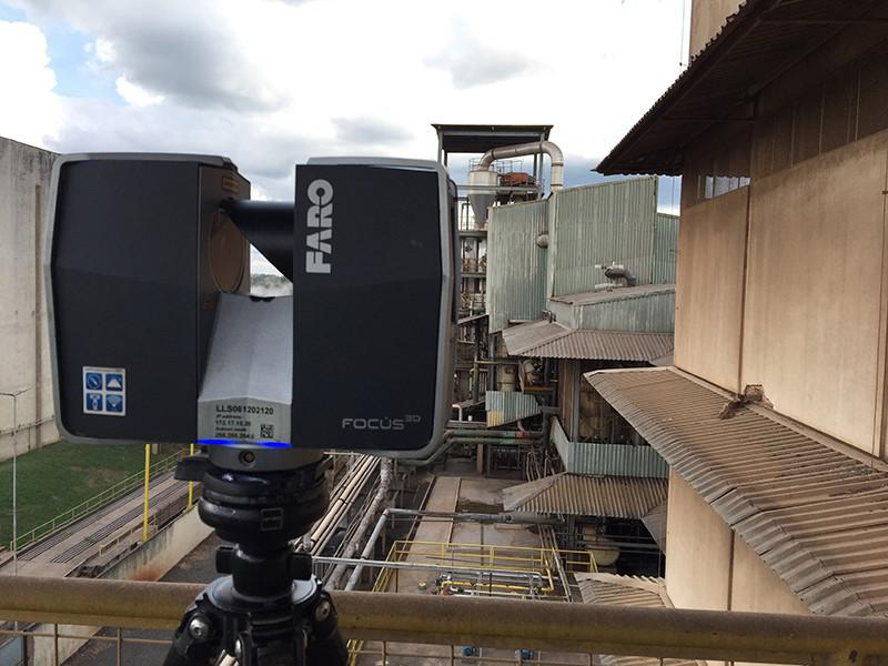 Laser scanner industrial