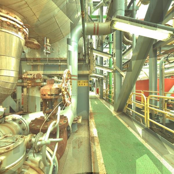 Levantamento de plantas industriais