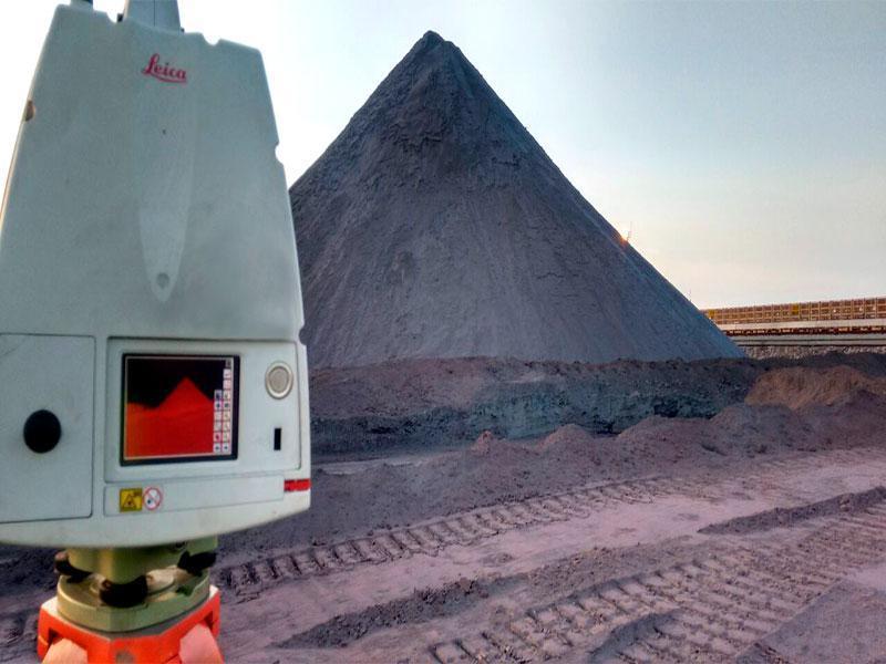 Levantamento topografico a laser