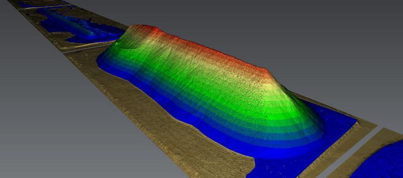 Levantamento topográfico com laser scanner