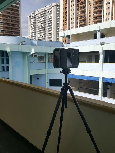 Topografia laser scanner 3d