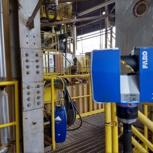 Laser scanner industrial